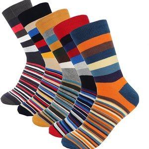 5-Pair Men Colorful Socks